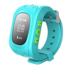 Дети ребенок наручные часы смартфон часы поддержка GSM GPRS GPS локатор трекер анти-потерянный Smartwatch ребенок для iOS