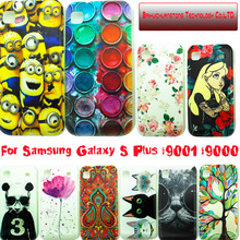Taken@ New Colored Painting PC Case Cover for Samsung Galaxy S plus i9000 i9001 T959 9000, Painted Hard Phone Cases(China (Mainland))