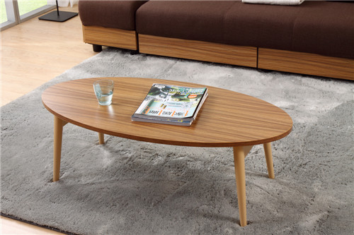 Free shipping Modern Wood TV Center Sofa Table Folding Legs Living Room Furniture Computer/Laptop Japanese Coffee Table Design(China (Mainland))