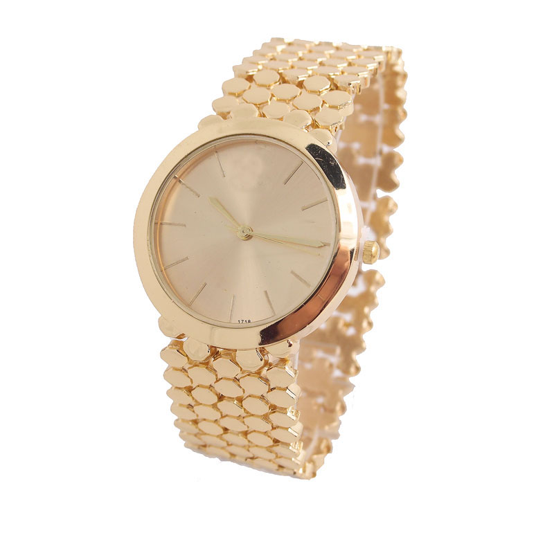 Hot Sale Big Brand men women fashion Crystal Gold Quartz watch Wrist watches Ladies hour clock relojes relogio feminino 1716<br><br>Aliexpress