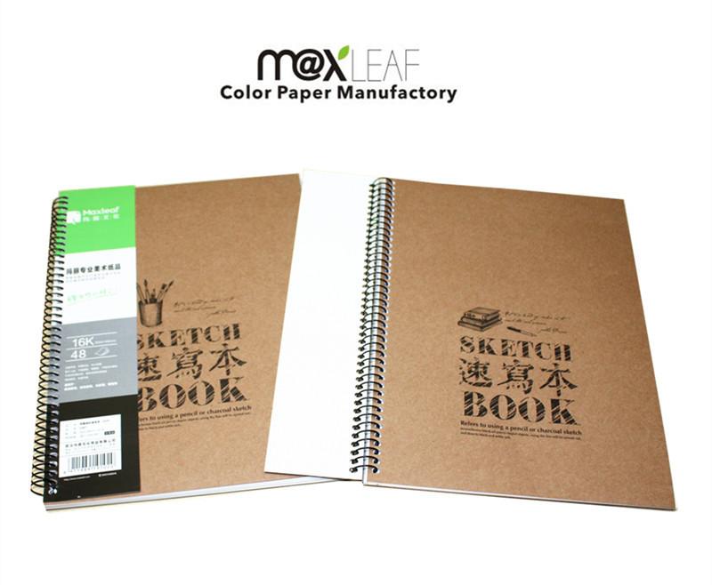 Kraft Paper Book Cover ~ Mm sketch book kraft paper cover sketchbook school