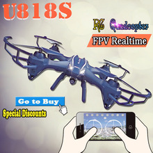 UDIU818S Wifi HD Real-time transmission 720HD Camera Aerial Photogeaph Large 6-Axis Gyroscope RC Quadcopter Drone Remote Control(China (Mainland))