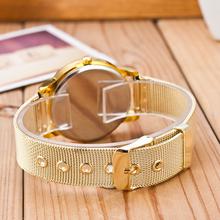 Fashion Brand Stainless Watches Women Quartz Watch Luxury Crystal Women Steel Watches Dress Wristwatch For