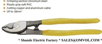 COAXIAL CABL CUTTER AND WIRE CUTTER, Capacity:35MM2(China (Mainland))
