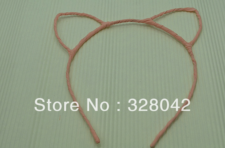 HOT!!! woman new design cute cat ears shaped party headbands FREE SHIPPING Lovely cat ear hair bands  hair accessory 100pcs/lotОдежда и ак�е��уары<br><br><br>Aliexpress