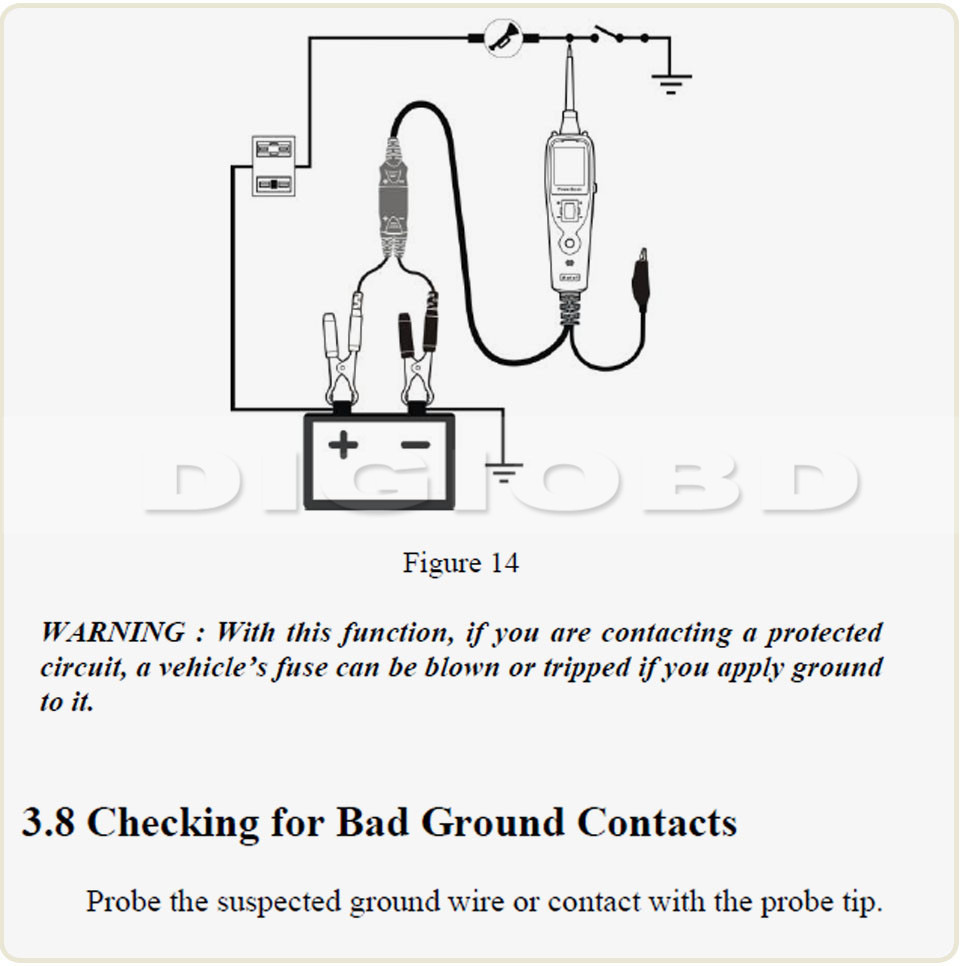Electrical System Diagnostic Tool Autel Powerscan Ps100 Battery Tester Wiring Diagram Pls Contact Us Before You Leave Neutral Or Negative Feedback About