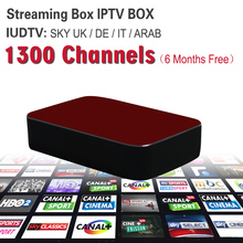 Mag254 Mag250 Streaming IPTV Box 1300+ Russian Italy Spanish IPTV Channels Server Inside Streaming Box Streaming Media Player