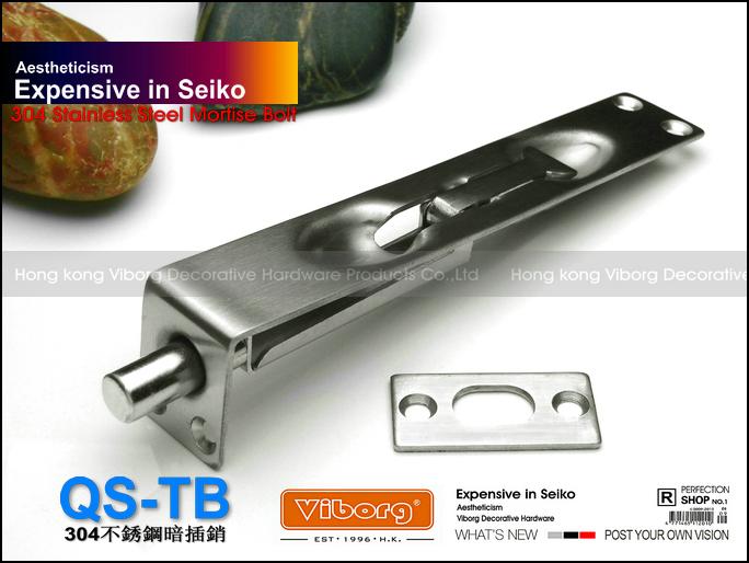"Гаджет  VIBORG Deluxe 15CM (6"") SUS304 Stainlesa Steel Door Bolt, Door Surface Bolt,Door Slide Bolt Lock, Qs-TB 6"" None Аппаратные средства"