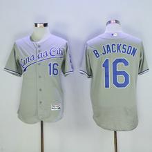 MLB Men's KANSAS CITY ROYALS BO JACKSON George Brett Jersey 5 6 35 8 16 13 Jerseys(China)