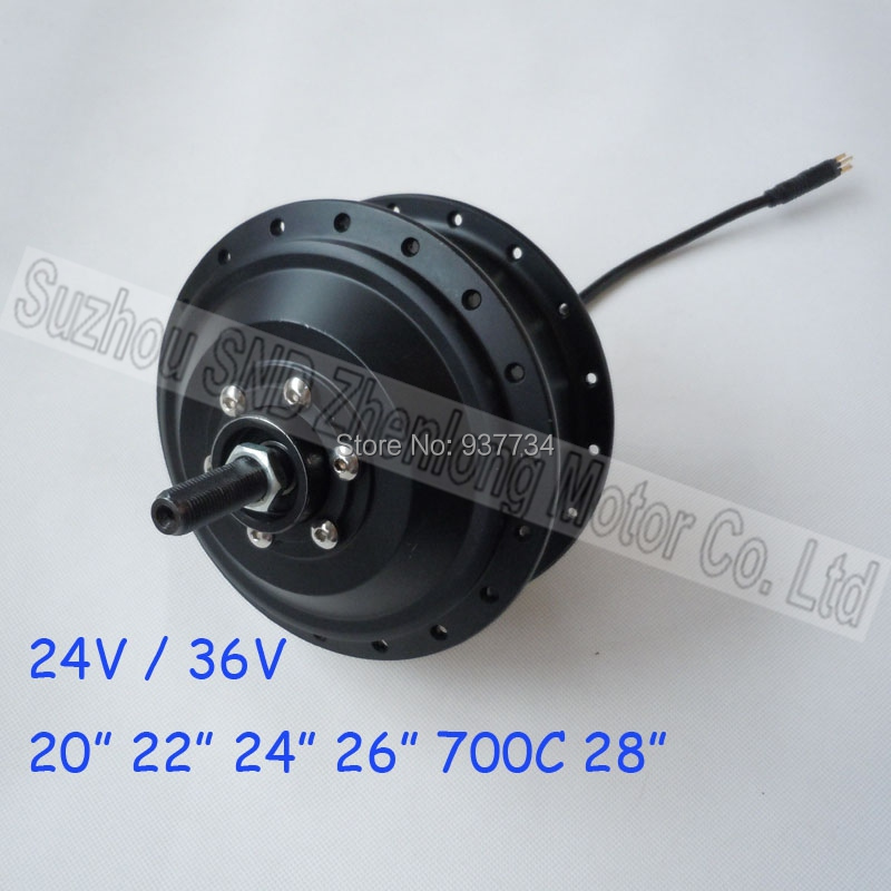 Brushless spoke hub motor electric bicycle/ e-bike gear high speed kit G-B024  -  Suzhou SND Zhenlong Motor Co. Ltd store