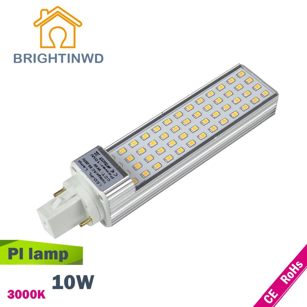 Led pl lamp CFL light 2PIN bulb bar PLL G24 AC 85~265V LED Corn Lamp Commercial downlight indoor light(China (Mainland))
