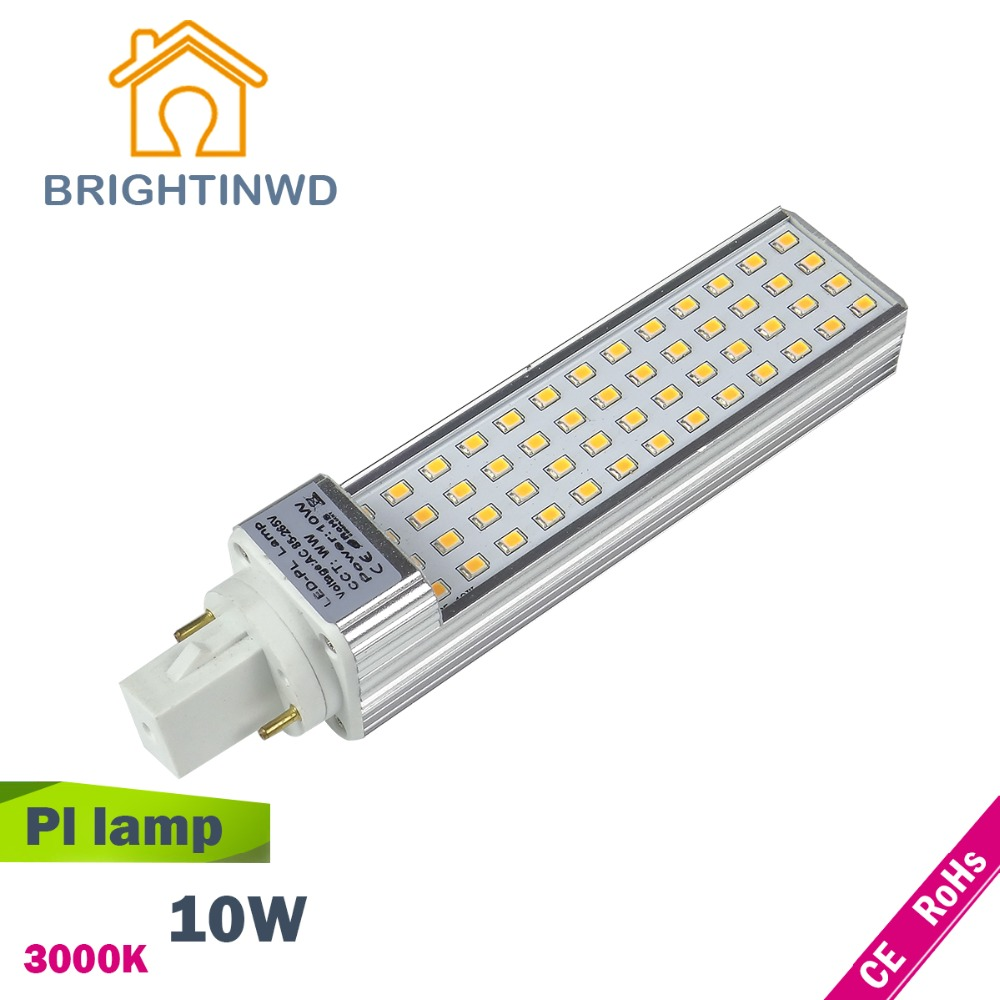 Led pl lamp CFL light 2PIN bulb bar PLL G24 AC 85~265V LED Corn Lamp Commercial downlight indoor light(China (Mainland))