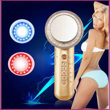Ultrasonic Galvanic Ion Full Body Photon EMS Slimming Fitness And Weight Loss Cellulite Reduction Massager Free Shipping