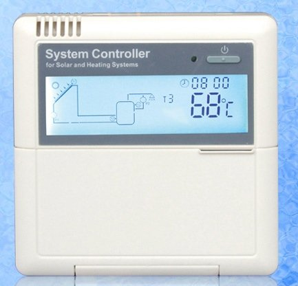 Smart Solar Water Heater Controller SR868C8 220V for Temperature Controller of Split Solar Water Heater System 2 day out(China (Mainland))