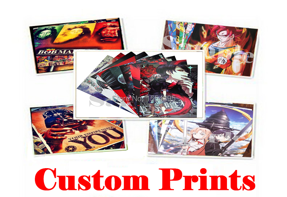 Good News!Wholesale and retail!Your Own Custom Poster,wallpaper,wall sticker for Home Decoration,Good Gifts.(China (Mainland))
