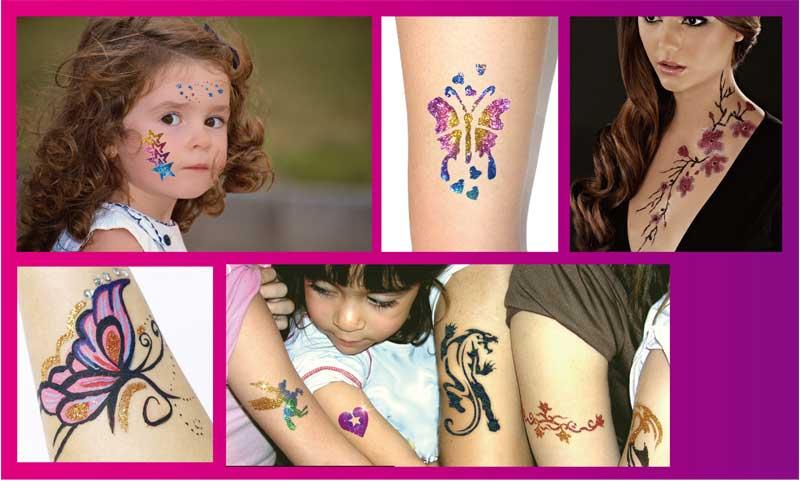 Временное тату для детей