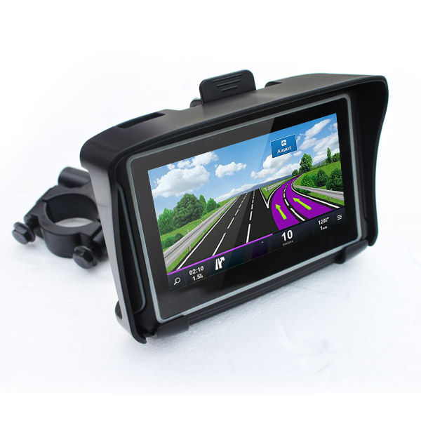 3618 JTD 4,3 inch waterproof motorcycle GPS pianet navigation potable hand hold cheapest high quality oem manufacture free map(China (Mainland))