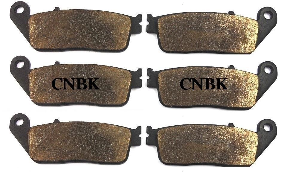 FL+FR+R Brake Pads Set for HONDA 750 VFR FJ / FK / FL / FM / FP.... VFR750 1989 1990 1991 1992 1993 1994 1995 1996 1988 - 1997