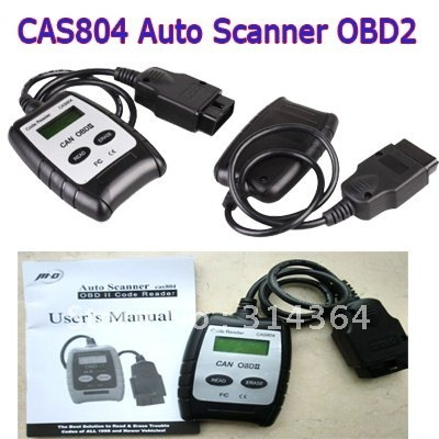 CAS804 Auto Scanner Tool Trouble Code Reader Can OBD2  obd ii  CODE READER SACN Free shipping