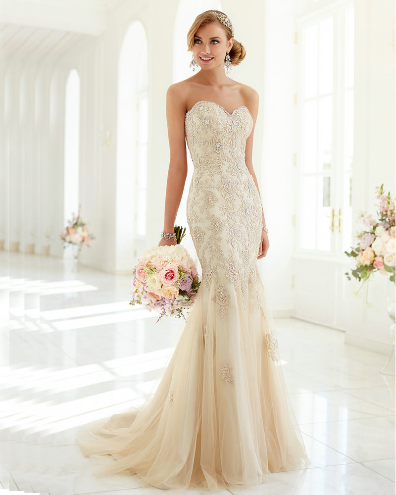 Champagne color wedding dresses wedding dresses in jax for Champagne color wedding dresses