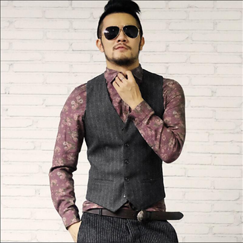 ... men vintage aus China suit vests for men vintage Großhändler