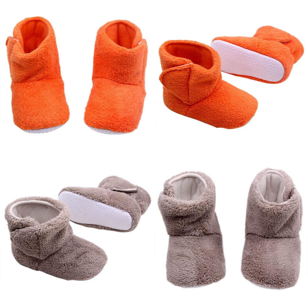 Baby bootie boys girls knit boots girls snow boots antiskid shoes(China (Mainland))