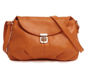 Fashion First Layer Real Genuine Leather Women Leather Handbags Cowhide Handbag Messenger Bags Small Shoulder Bag #VP-M8889