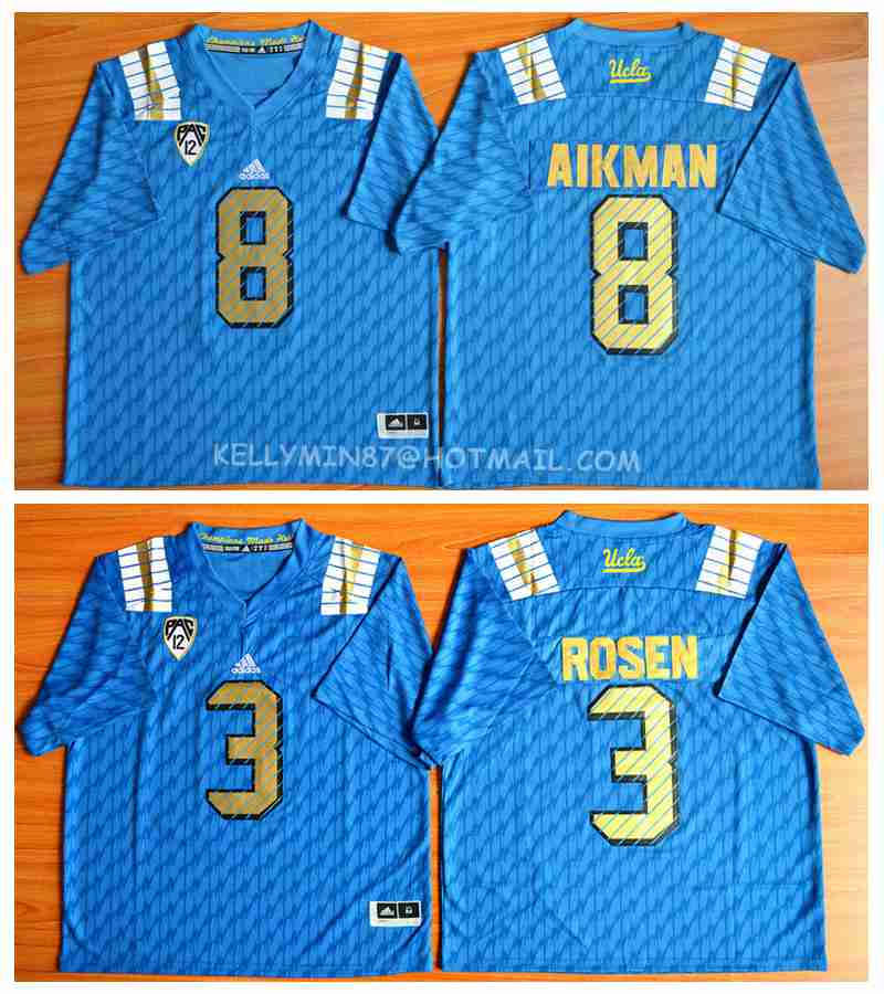 2016 new arrivals,high quality,UCLA Bruins,Troy Aikman,Josh Rosen(China (Mainland))