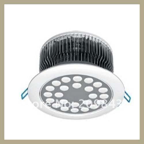 Free Shipping 24W fins radiator led downlights.Indoor lighting