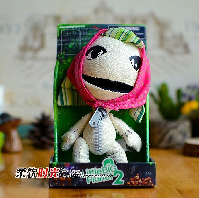 Toy Store Little Big Planet Game Doll Lovers Plush Toys Women Gifts(China (Mainland))