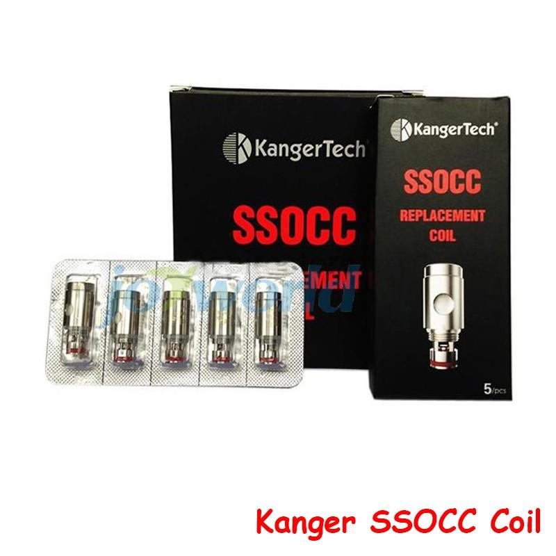 100% Kanger ssocc coil for kangertech Subtank toptank v2 plus subox topbox mini nano subvod mega occ vertical nebox dripbox YY   (8)