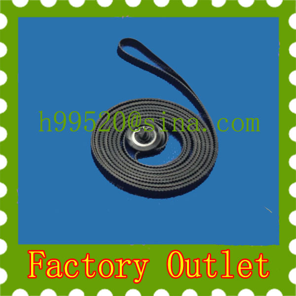 DesignJet Pro4000 4500 Z6100 L25500 Z6200 Z5800 Carriage belt Q1273-60228 CQ109-67004 Q6652-60118 CQ111-67003 Plotter Parts(China (Mainland))