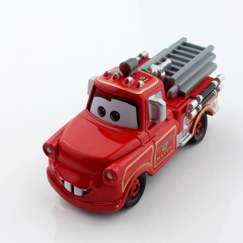 Disny mini kids tomica tomy cars cute mater tow truck fire fighting truck pixar metal race car diecast models toys for boys(China (Mainland))