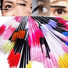 15pcs/50pcs Disposable Beauty Eyelash Brush Cosmetic Makeup Brushes Tool Mascara Wands Applicato Makeup Brush Set