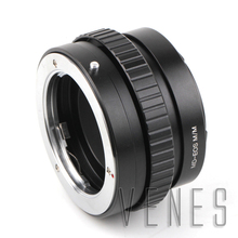 Buy Pixco Adjustable Focusing Macro Infinity Lens Mount Adapter Suit Minolta MD Lens Canon EOS M EF-M M2 Mirrorless Camera for $33.12 in AliExpress store