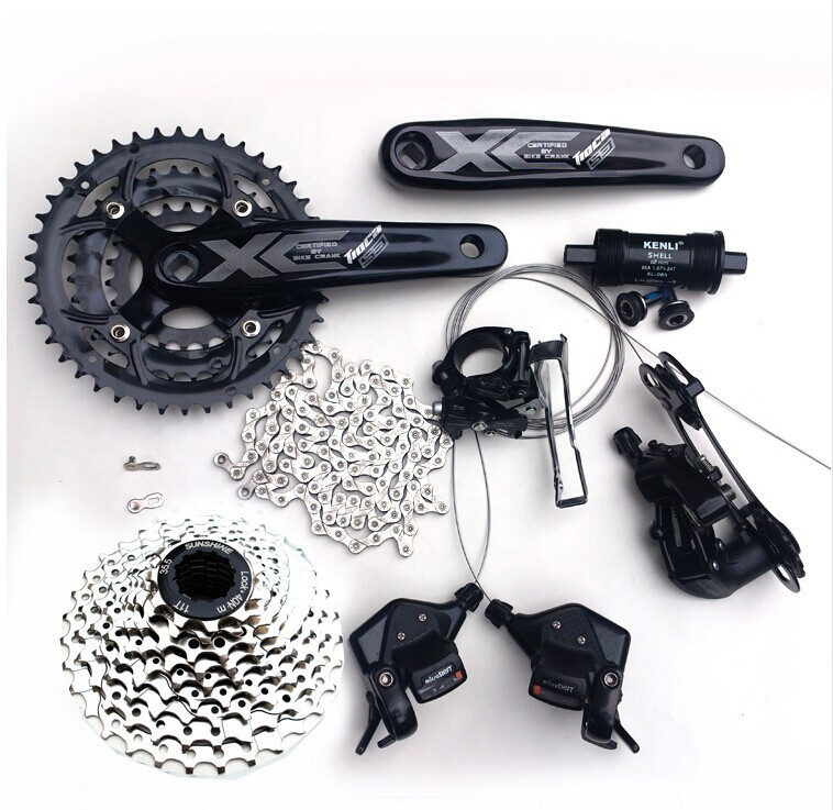 Microshift 3x9s 27speed Bike Groupset 7psc<br><br>Aliexpress