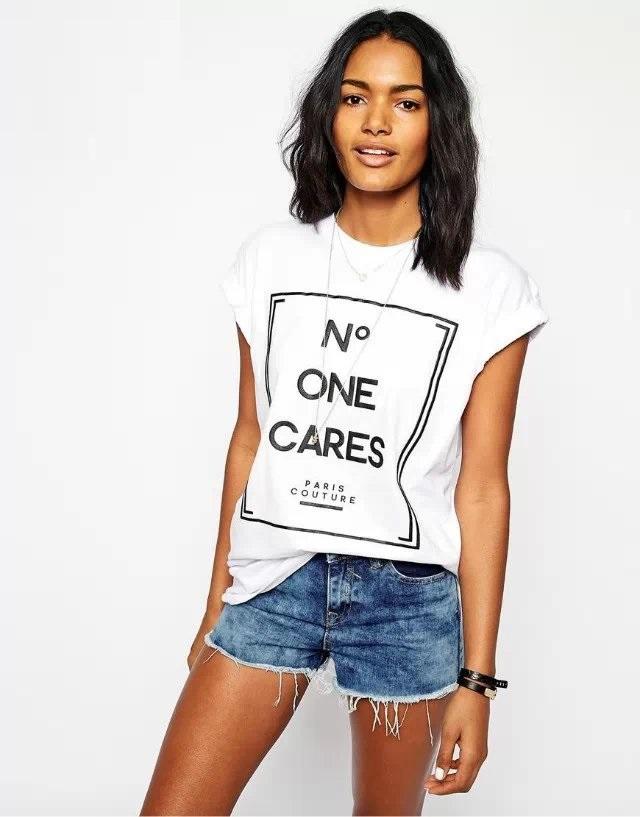 Женская футболка  female shirts 2015 t o 01AZ51 COTTON SHIRT женская футболка t shirts new brand 2015 o women t shirts