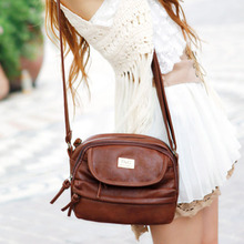 New free shipping casual all-match tassel zipper small cross-body bags women's handbag shoulder bag messenger bags W2050