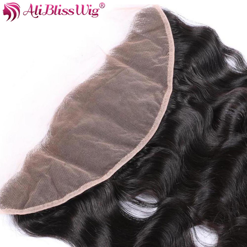 Chantiche Brazlian Body Wave Full Lace Frontal With Baby Hair 134 Bleach Knots Unprocessed Human Hair Closure (14)