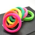 50 Pcs Elastic Rubber Hair Bands Cute Baby Grls Hair Accessories Headbands For Women Children cintillos