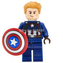 Marvel Super Heroes Captain America 3 Civil War Minifigures Single Sale Building Blocks Set Model Figures Bricks Toys