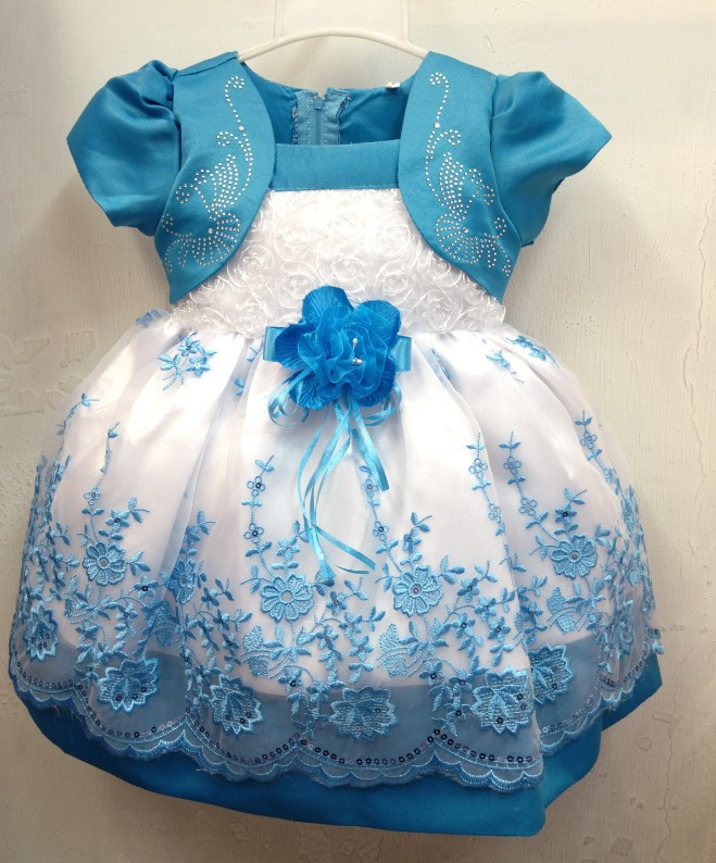 2013 HOT Selling Children Kids Clothing Girls Dresses Flower Design Princess Dress Free shopping
