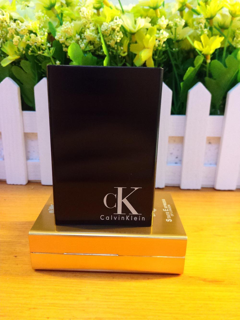 Personalized C CASE men metal cigarette case cigarette boxes metal lacquer laser carved design forever famous