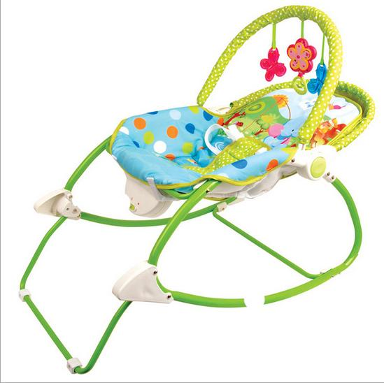 W2583 baby rocking chair multifunction baby infant recliner appease(China (Mainland))