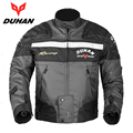 DUHAN Motorcycle Jackets Body Armor Protective Moto Jacket Motocross Off Road Racing Jacket Motorbike Windproof Jaqueta