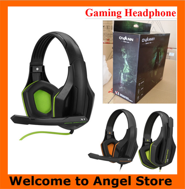 10pcs/lot DHL Free Shipping X1 Advanced Gaming Headset Computer Headsets X1 multimedia Stereo Game Headphone with Mic for Gamer(China (Mainland))