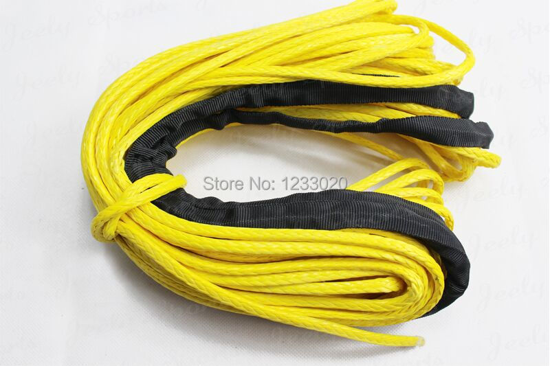 Free Shipping 13MM 40M 12 Strand Extreme UHMWPE Off-Road atv Winch Rope With Thimble(China (Mainland))
