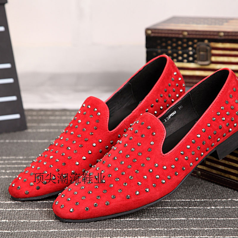 replica shoes christian louboutin - Popular Studded Men Loafers-Buy Cheap Studded Men Loafers lots ...