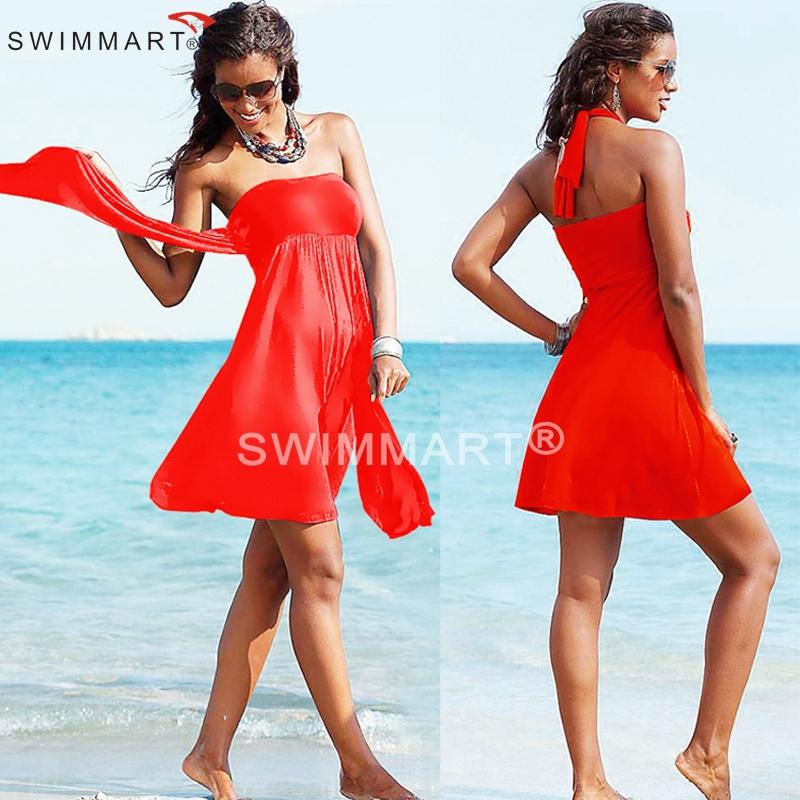 12 Fashion Colors infinite 2015 Removable Padding Multi wear Convertible Summer Women Beach dress S.M.L.XL(China (Mainland))