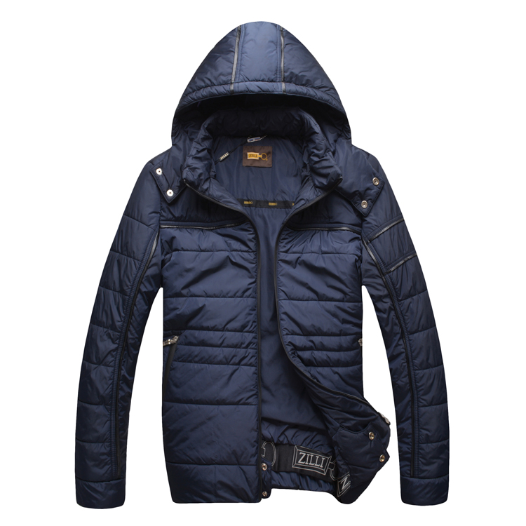 Zil i wadded jacket cotton-padded jacket male 2015 winter thick straight fashionable casual comfortable outerwear free shippingОдежда и ак�е��уары<br><br><br>Aliexpress